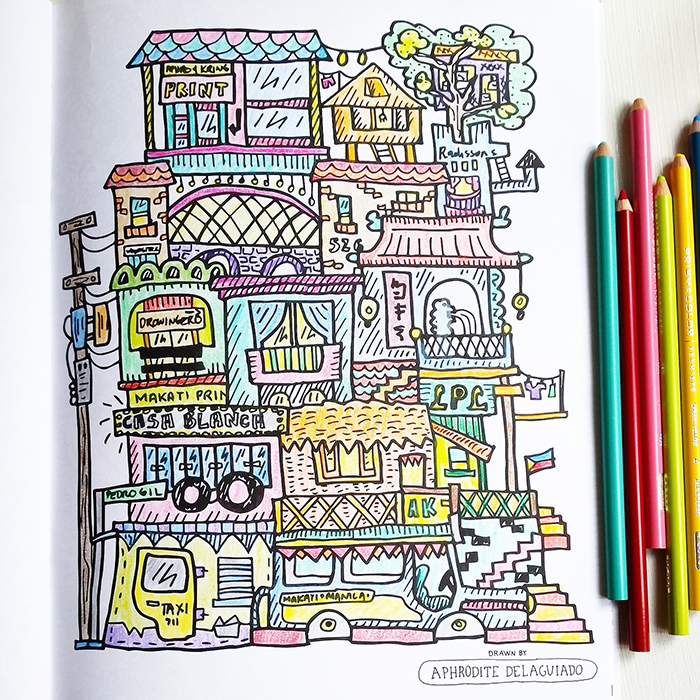 """""""Home is where the heart is"""" drawing by Aphro Delaguiado"""